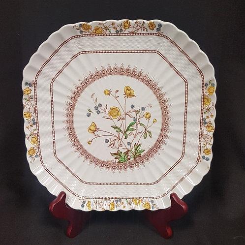 "Spode ""Buttercup"" Square Plate"