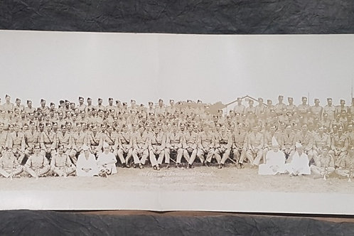 WWI 2nd Reserve Divisional Signals Camp Niagara Group Photo - 1942
