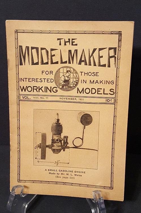 The ModelMaker Vol VIII No. 11 November 1931