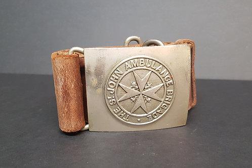 St. John Ambulance Brigade Leather Belt