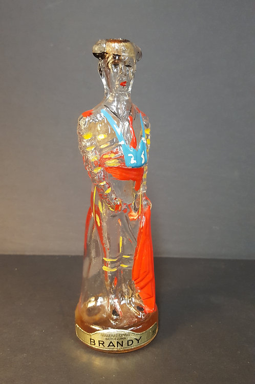 Vintage Matador Brandy Bottle Decanter Nogueras Comas