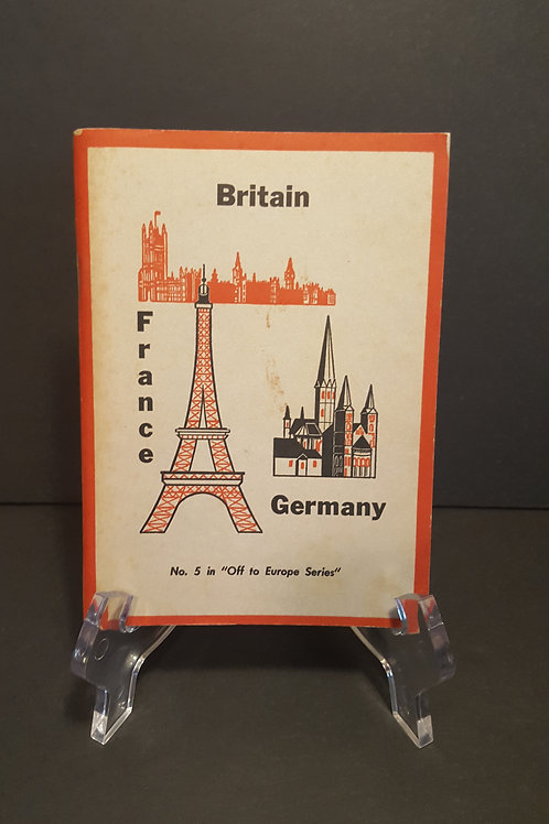 """Vintage Canadian Forces Pocket Guide No. 5 """"Off to Europe Series"""""""