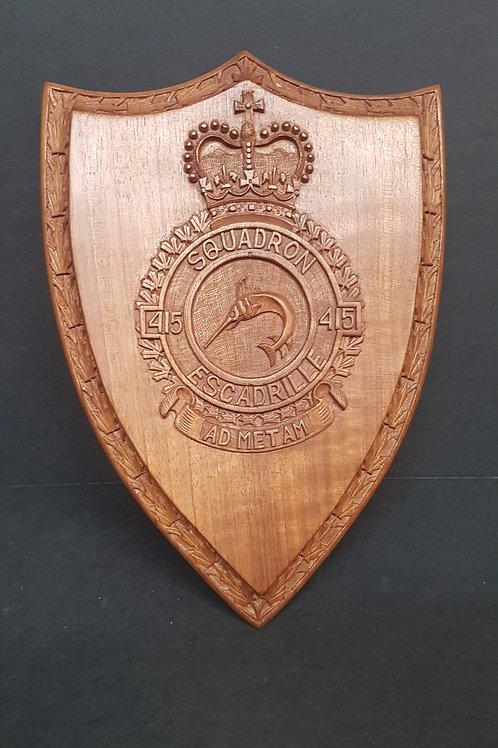 415 Squadron/ Escadrille Plaque
