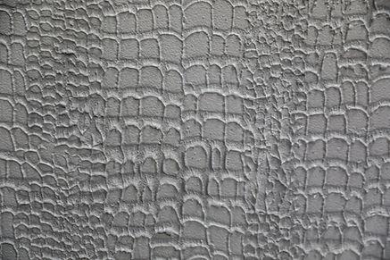 Alligator Skin faux painting venetain plaster silver