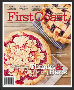 first coast thanksgiving magazine jacksonville florida pie blueberry beautiful thaks and giving back
