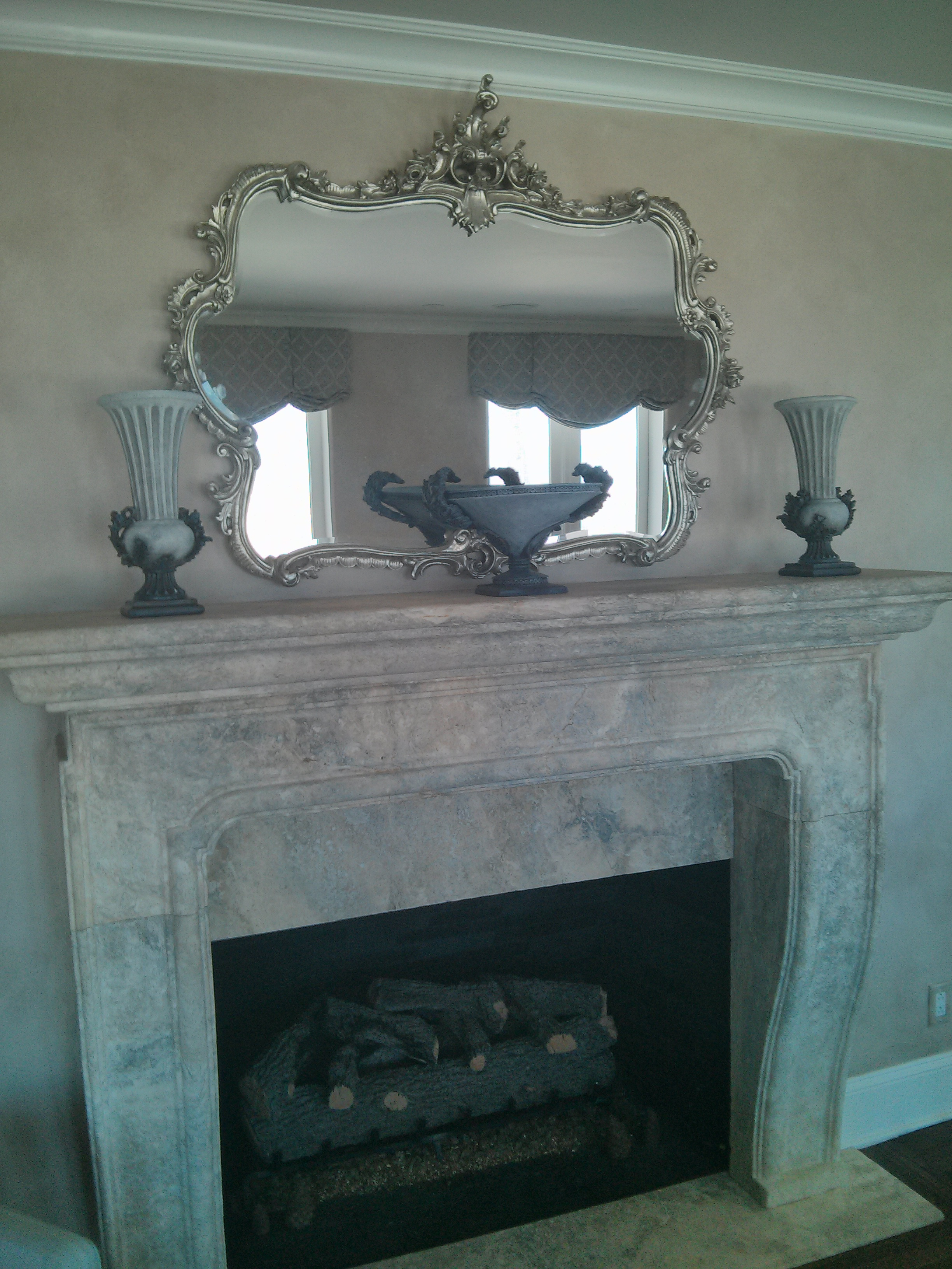 Aged Fireplace