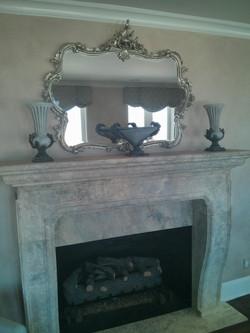 Aged Fireplace