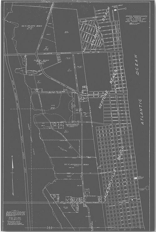 Jacksonville Beach Map