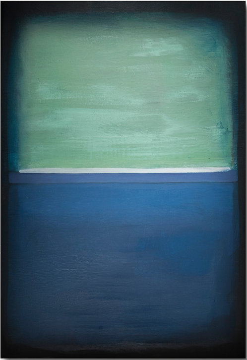 Prussian Blue and Green