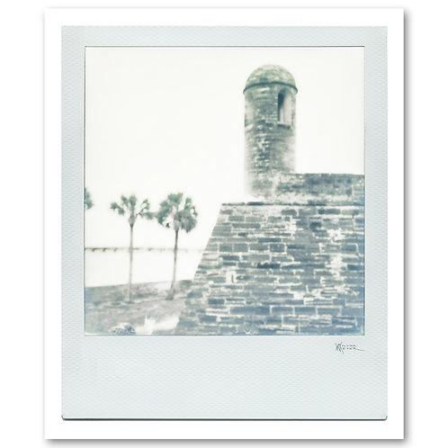 Castillo de San Marcos Polaroid 2 by William Meyer