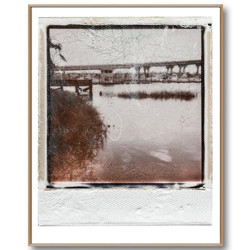 Beach Marina Polaroid Front William Meyer