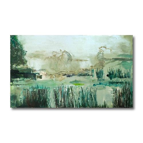 Lakeside Marsh by William Meyer