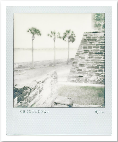 Castillo de San Marcos Polaroid 1