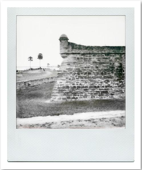 Castillo de San Marcos Polaroid 3