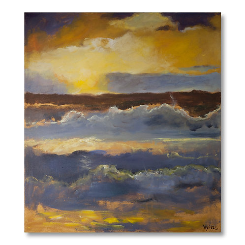 Ocean Waves 3 by William Meyer