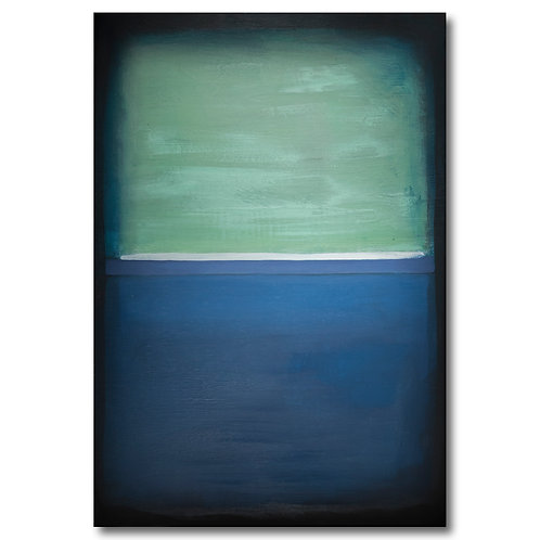 Prussian Blue and Green by William Meyer