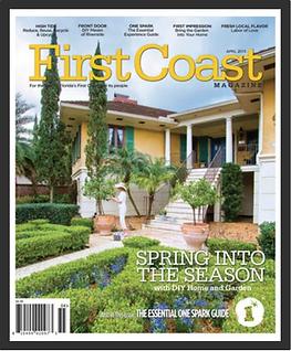 first coast magazine yellow text spring into th season with diy home and garden onespark beautfiul exterior interior home
