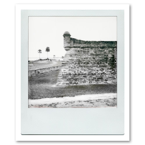 Castillo de San Marcos Polaroid 3 by William Meyer