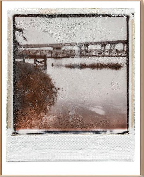 Beach Marina Polaroid Front