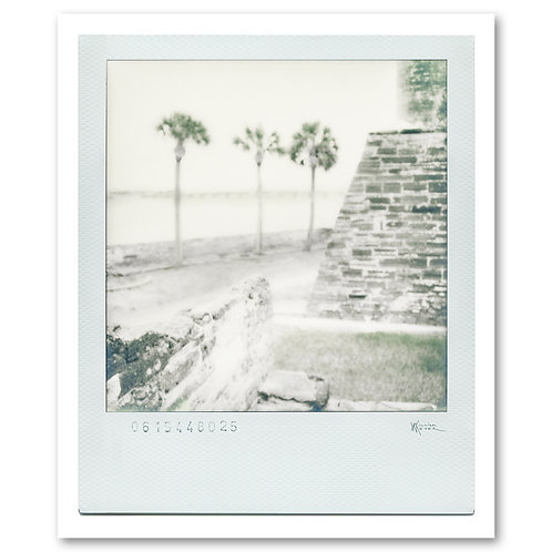 Castillo de San Marcos Polaroid 1 by William Meyer