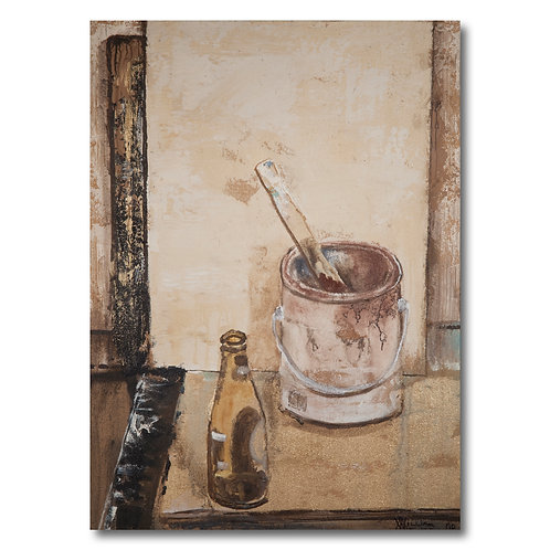 Amstel and Paint Can by William Meyer