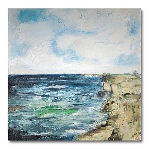Irish Cliffside by William Meyer