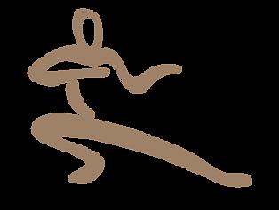 ציור של תנועת הנחש  וודאן טאי צ'י