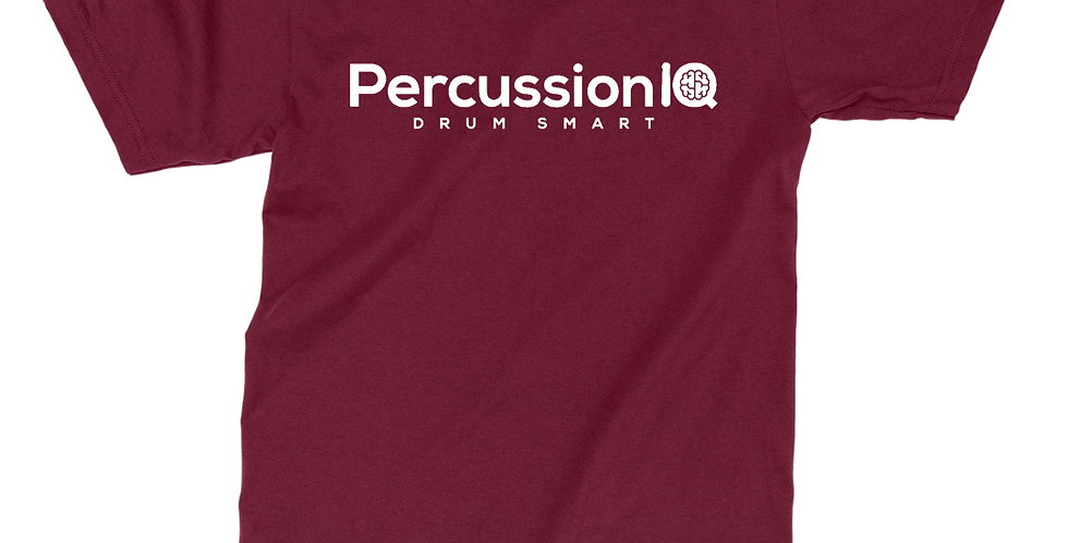 Percussion IQ T-Shirt - Maroon