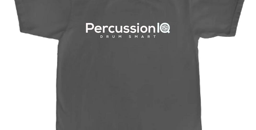Percussion IQ T-Shirt x Lone Star Percussion - Grey