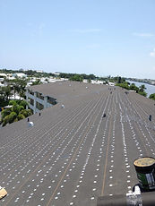SLOPED ROOF INSTALLATION DRY IN BOCA RATON