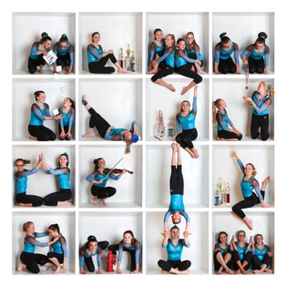 Gymnastics Team Photo