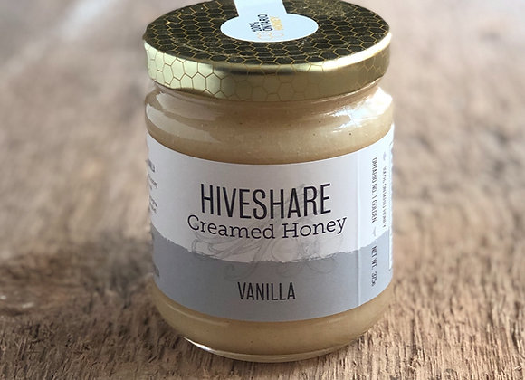Vanilla Creamed Honey