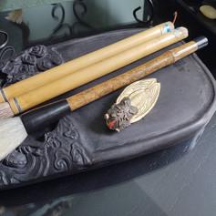 Ink Stone + Brushes