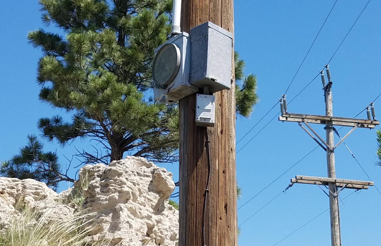 16412 South Hwy 385 - Meter Socket Pole
