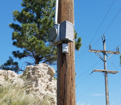 16412 South Hwy 385 - Meter Socket Pole