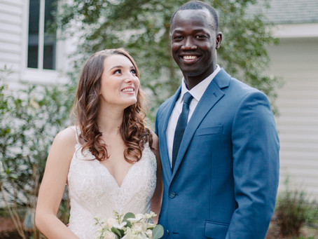 North Carolina Elopement Intimate Wedding