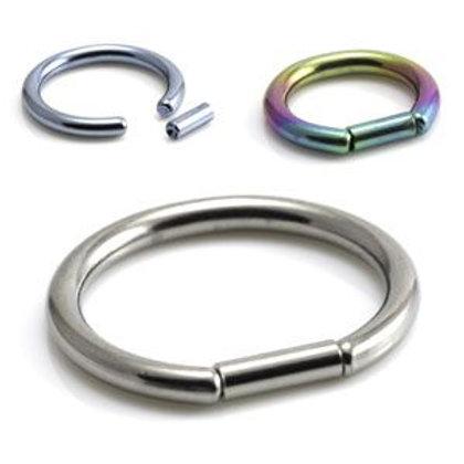 Titanium Bar Closure Ring 1.6mm