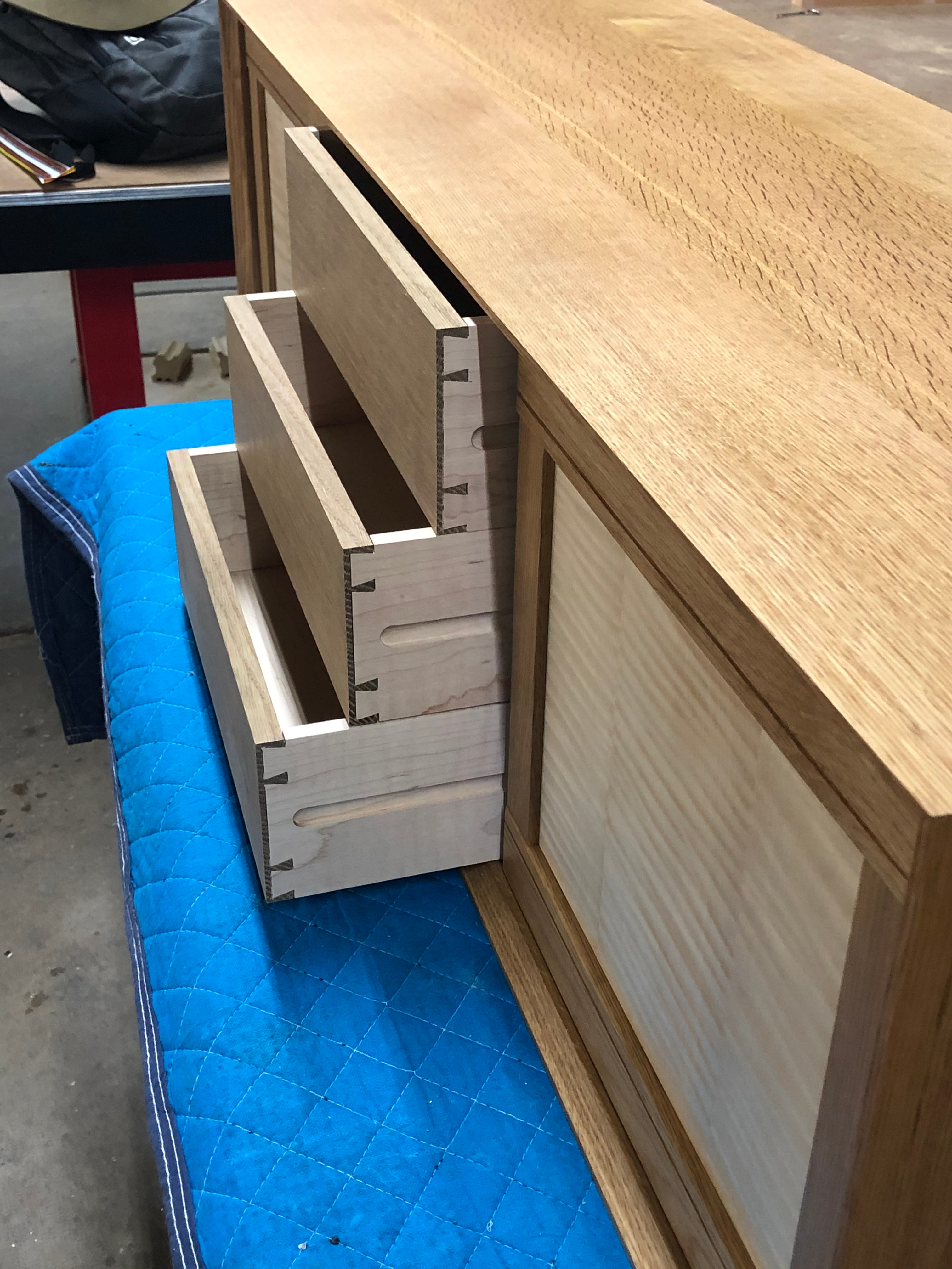 Hand Cut Dovetails