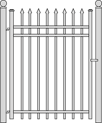 Steel Gate by National Fence Systems