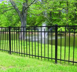 Diamond fence with Fountain