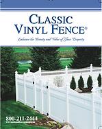 Classic Vinyl Fence Brochure
