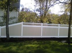 Fleetwood 2 Tone Fence