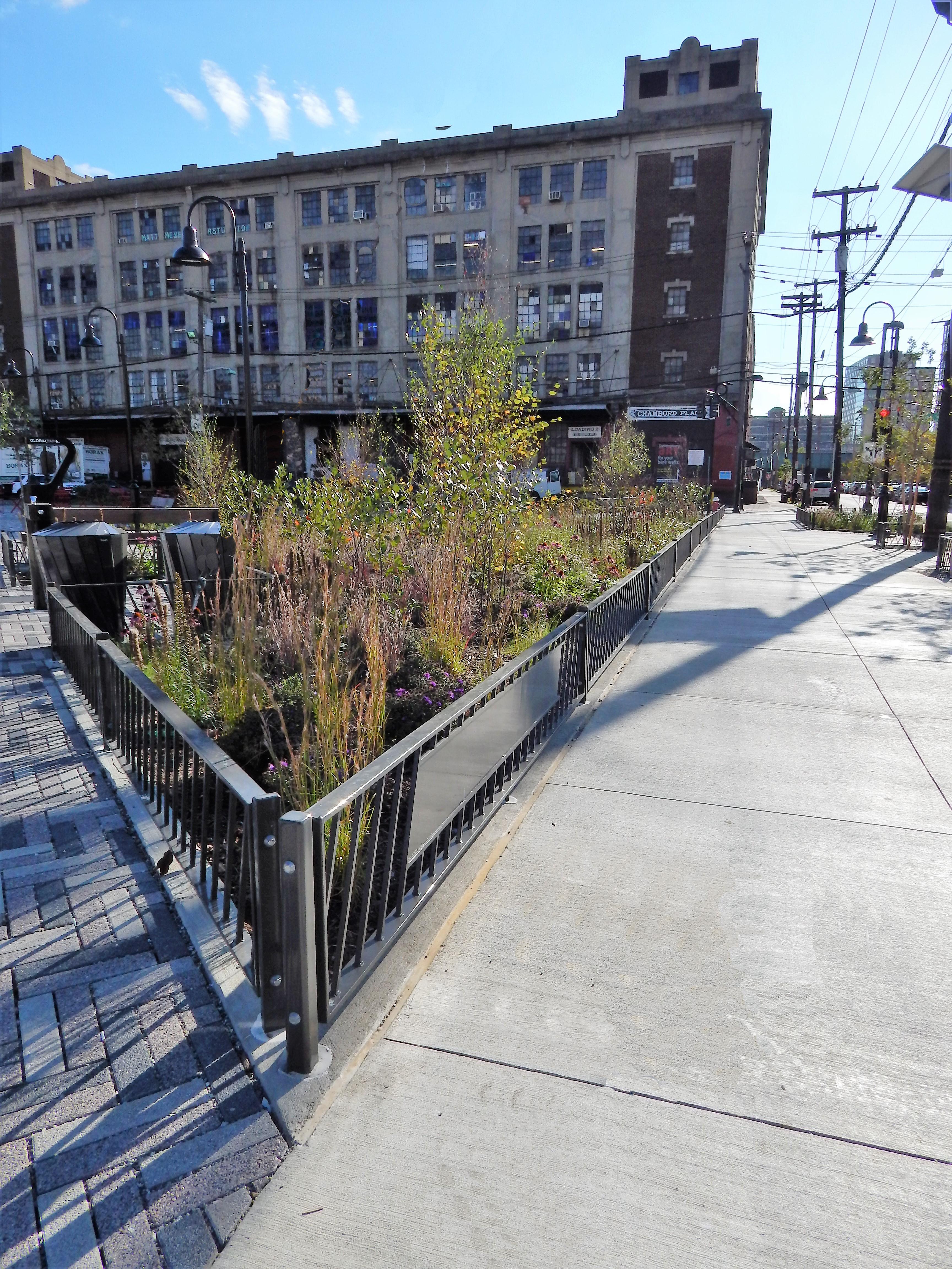 Southwest Park sidewalk