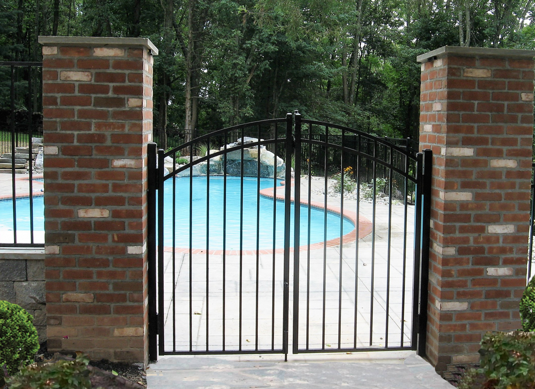 Opal Arched Gate (5)Revised