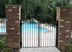 Opal Arched Gate
