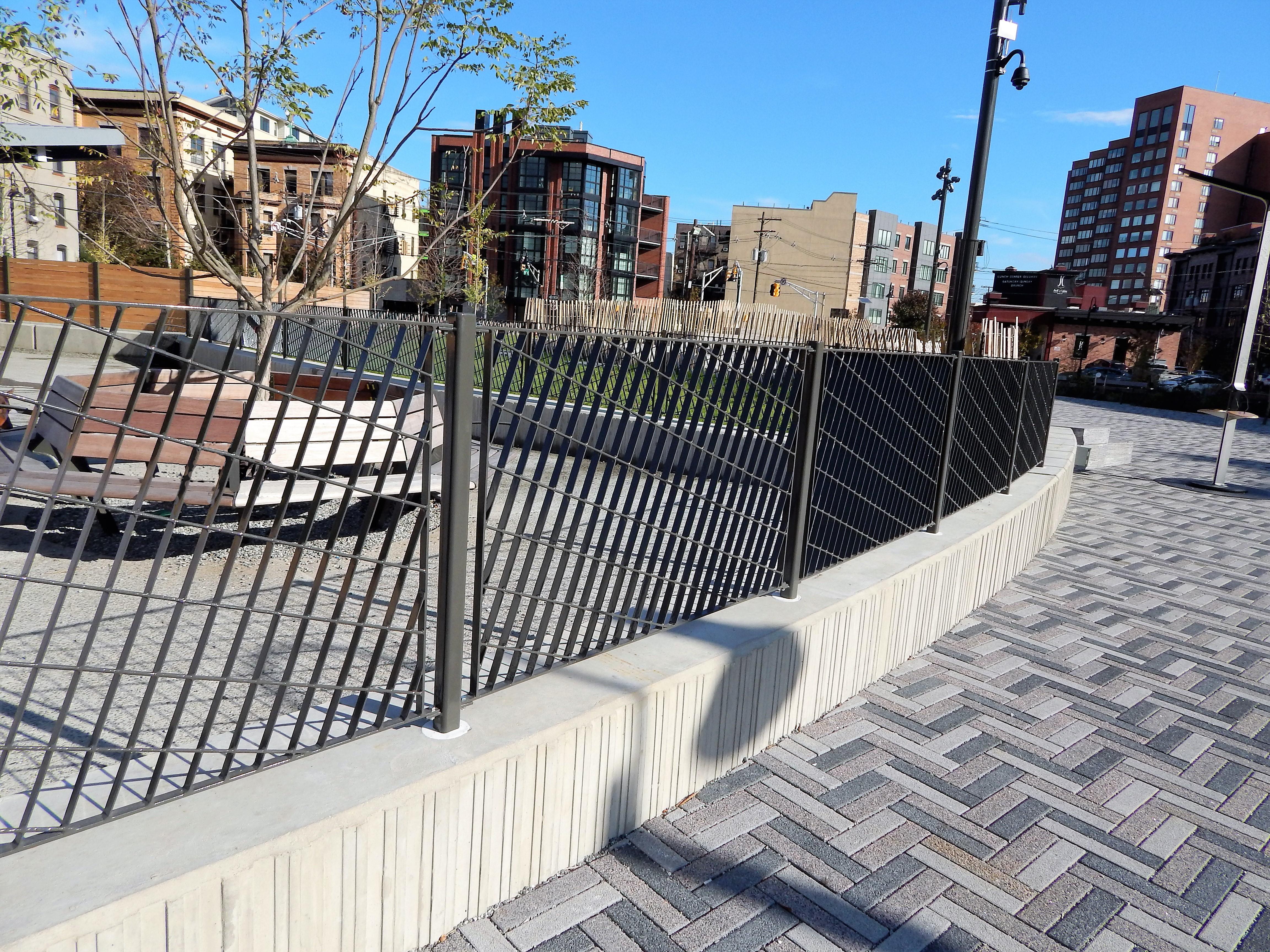 Southwest Park Custom Fence