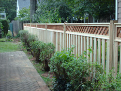 Custom Tongue and Groove Fence