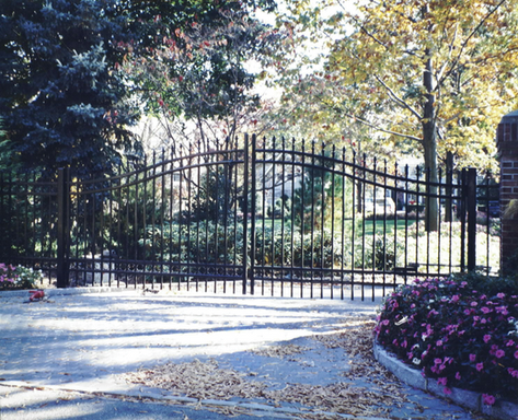 Custom Gate - National Fence Systems