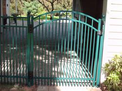 Quartz Arched Gate Green