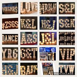 Light up Letters LOVE